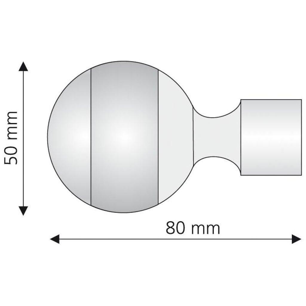 Liedeco Gardinenstangen-Endstück »Power«, für Gardinenstangen Ø 20 mm