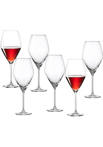 Ritzenhoff & Breker Rotweinglas »Salsa«, (Set, 6 tlg.), robust und kristallklar, 6-teilig kaufen
