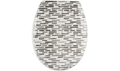 MSV WC - Sitz »LOFT«, Duroplast, mit Softclose kaufen