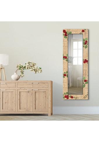 Artland Wandspiegel »Eulenpärchen«, gerahmter Ganzkörperspiegel mit Motivrahmen,... kaufen