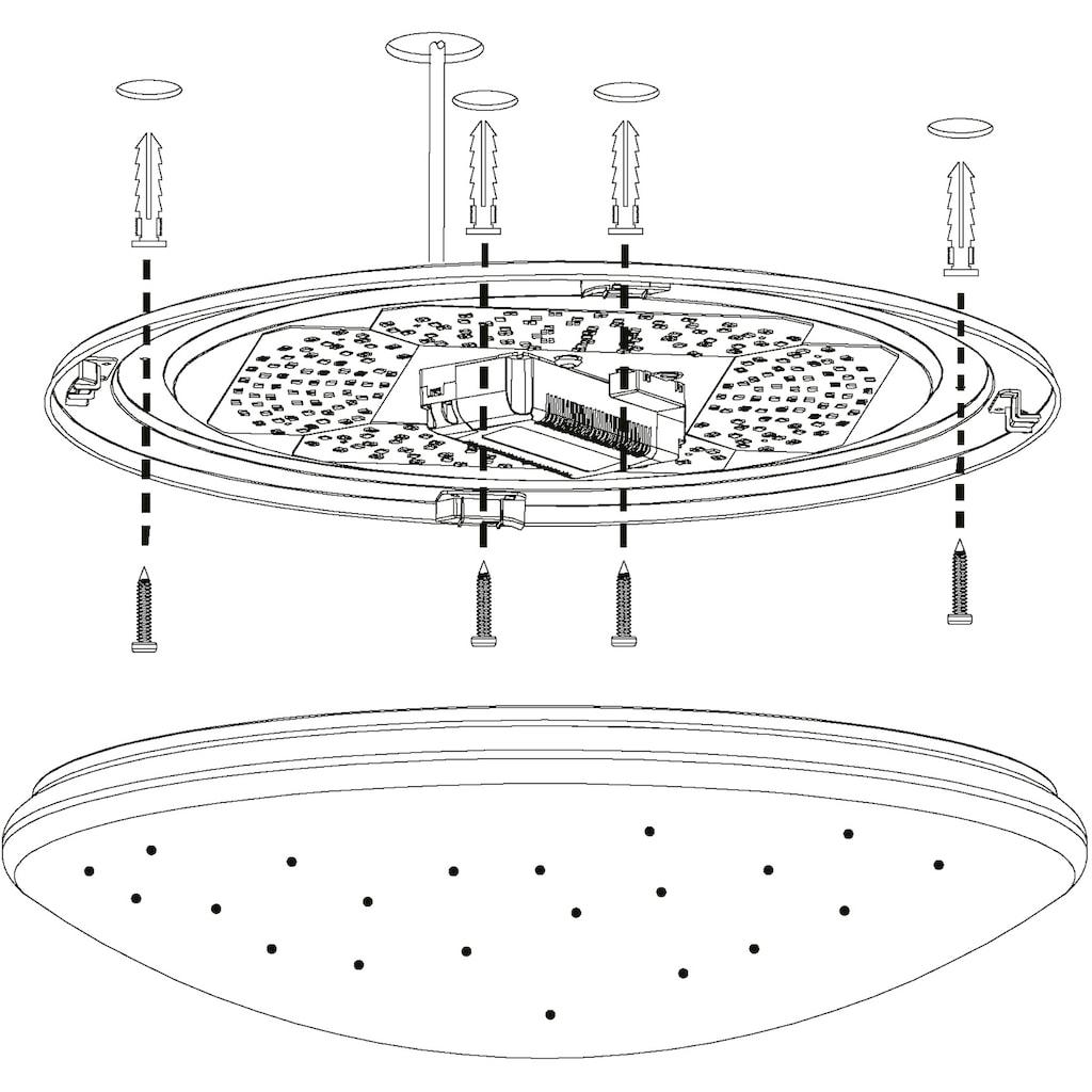 EGLO Deckenleuchte »TOTARI-C«, LED-Board, Warmweiß-Tageslichtweiß-Neutralweiß-Kaltweiß, EGLO CONNECT, Steuerung über APP + Fernbedienung, BLE, CCT