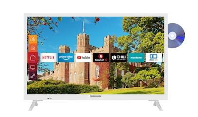 "Telefunken LED-Fernseher »XH24J501D-W«, 60 cm/24 "", HD-ready, Smart-TV kaufen"