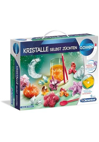 Clementoni® Experimentierkasten »Galileo - Kristalle selbst züchten neu«, Made in Europe kaufen