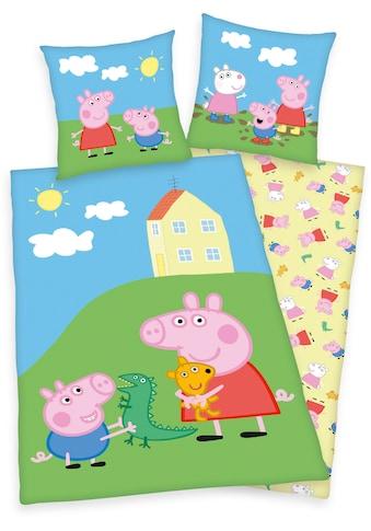 Kinderbettwäsche »Peppa Pig / Peppa Wutz«, kaufen