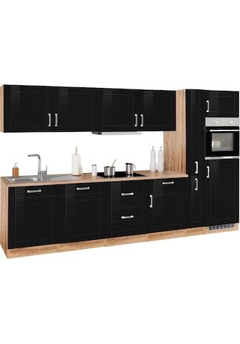 HELD MÖBEL Küchenzeile »Tinnum«, mit E-Geräten, Breite 330 cm kaufen
