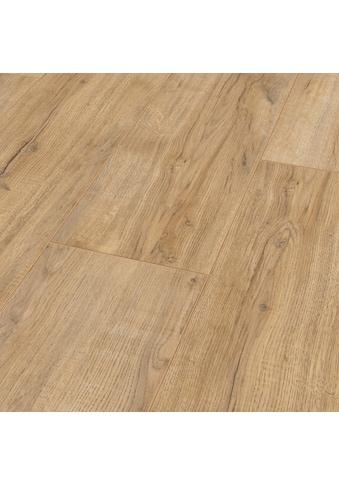 BODENMEISTER Laminat »Dielenoptik Eiche hell rustikal«, Landhausdiele 1380 x 244 mm, Stärke: 8 mm kaufen