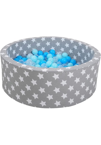 Knorrtoys® Bällebad »Soft, Grey white stars«, mit 300 Bällen balls/soft... kaufen