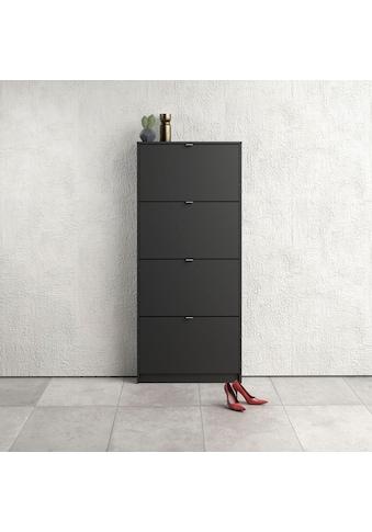 Home affaire Schuhschrank »Shoes«, mit vier Klappen, in verschiedenen Farbvarianten... kaufen