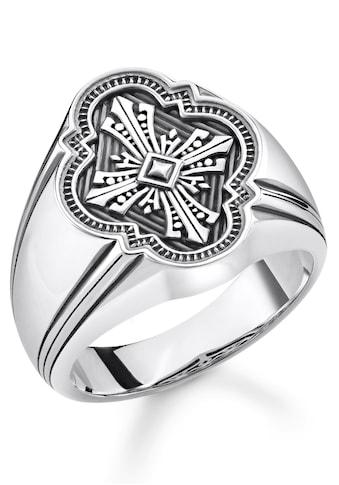 THOMAS SABO Silberring »Kreuz, TR2244-637-21-48, 50, 52, 54, 56, 58, 60, 62, 64, 66, 68« kaufen