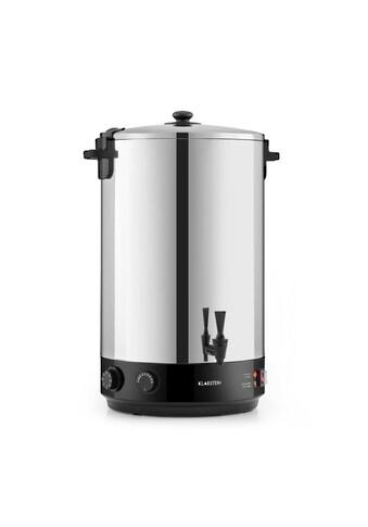 Klarstein KonfiStar 50 Einkochautomat Getränkespender 50L 110°C kaufen