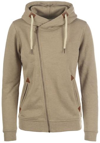 DESIRES Kapuzensweatjacke »Vicky Zip-Hood«, Sweatshirtjacke mit asymmetrischen... kaufen