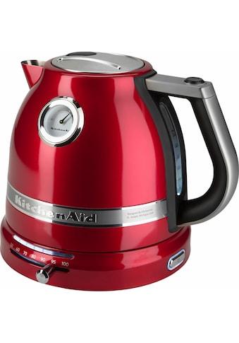 KitchenAid Wasserkocher »5KEK1522ECA«, 1,5 l, 2400 W, liebesapfelrot kaufen