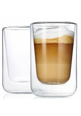 BLOMUS Thermoglas »NERO«, (Set, 2 tlg.), Doppelwandig, Inhalt 250 ml, 2-teilig kaufen