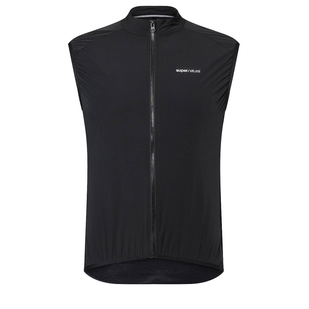 SUPER.NATURAL Funktionsweste »M UNSTOPPABLE GILET«, windabweisend