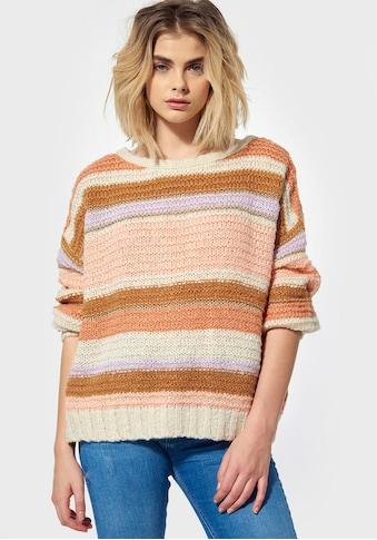 Kaporal Sweater »PEAC«, mit überkreuztem Rückenausschnitt kaufen
