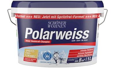 SCHÖNER WOHNEN-Kollektion Wand- und Deckenfarbe »Polarweiss« kaufen