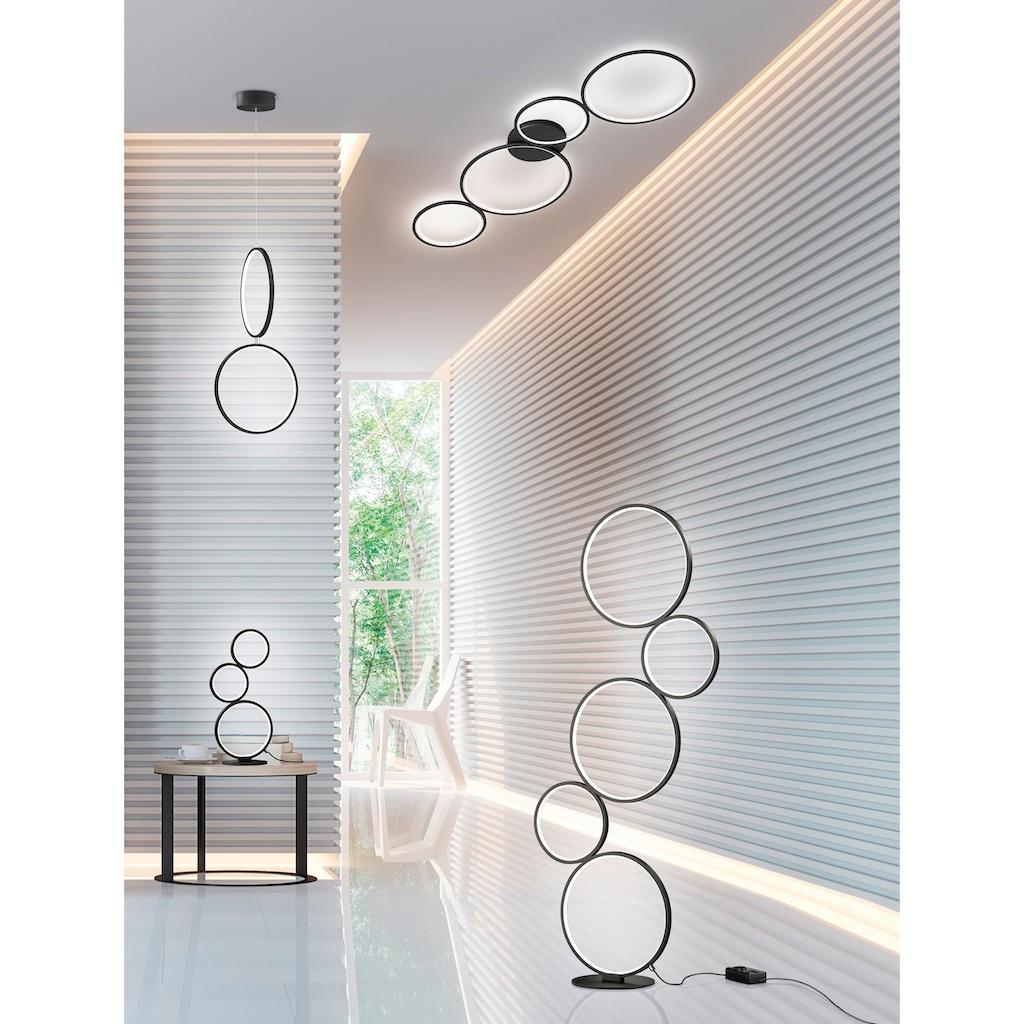 TRIO Leuchten LED Deckenleuchte »Rondo«, LED-Board, Warmweiß, Switch Dimmer