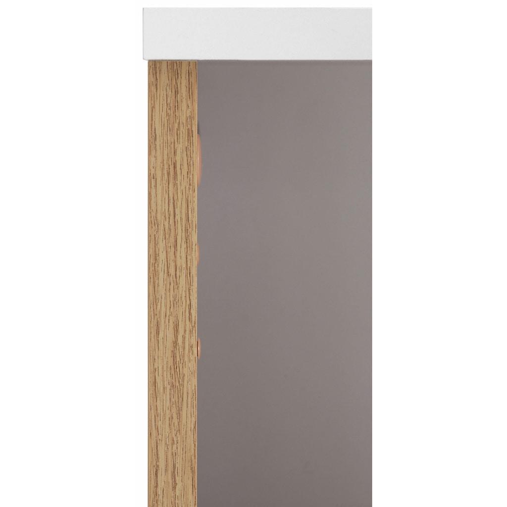 Schildmeyer Midischrank »Rhodos«, Breite 60 cm, verstellbarer Einlegeboden, Metallgriffe, 2 Schubladen & 2 Türen