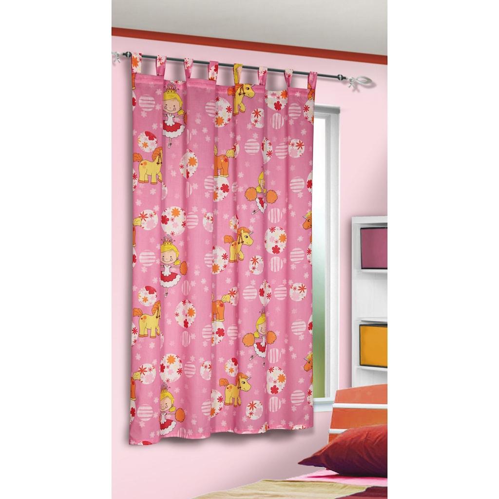 WILLKOMMEN ZUHAUSE by ALBANI GROUP Vorhang »Einhorn«, Dekostoff mit Schlaufen