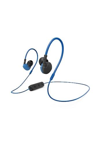 Hama Sport-Kopfhörer »Inkl. Ohrbügel- Blau/Schwarz«, A2DP Bluetooth-AVRCP... kaufen