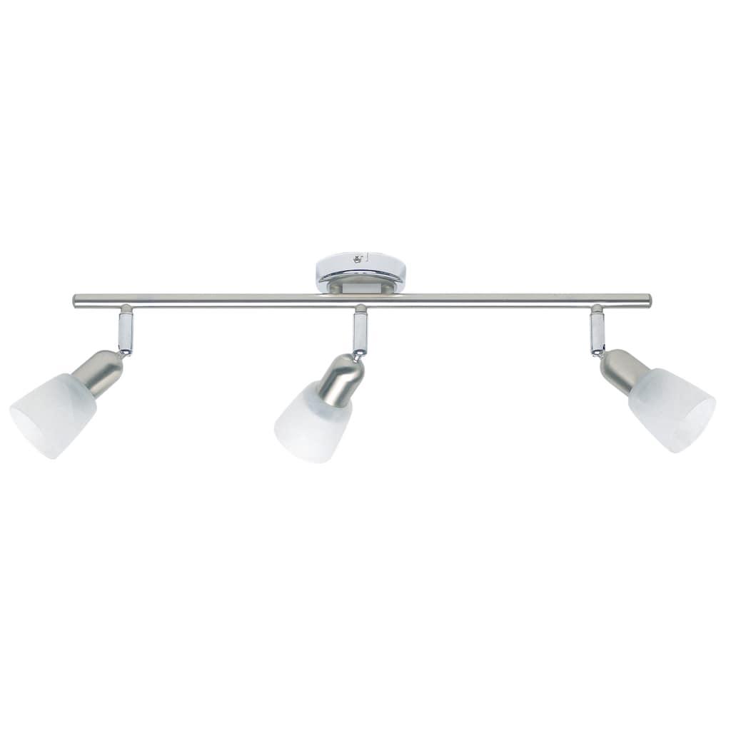 Brilliant Leuchten Deckenleuchten, E14, Sofia Spotrohr 3flg eisen/chrom/weiß