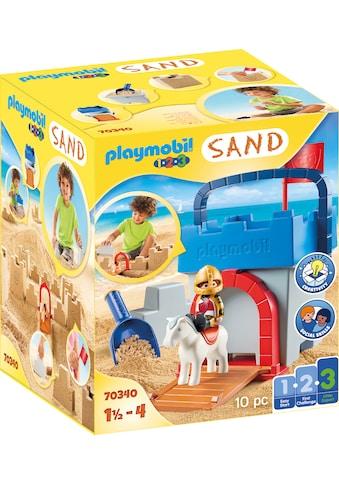 Playmobil® Konstruktions-Spielset »Kreativset Sandburg (70340), Playmobil 123 - Sand«,... kaufen