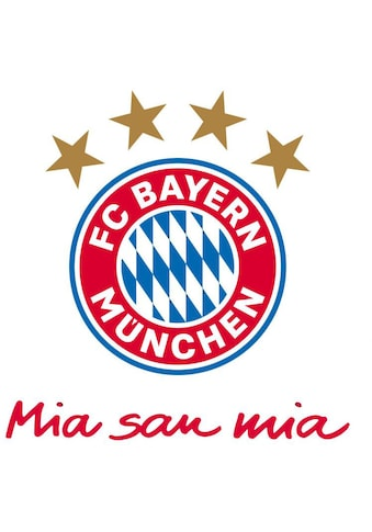 Wall-Art Wandtattoo »FC Bayern München Mia San Mia« kaufen