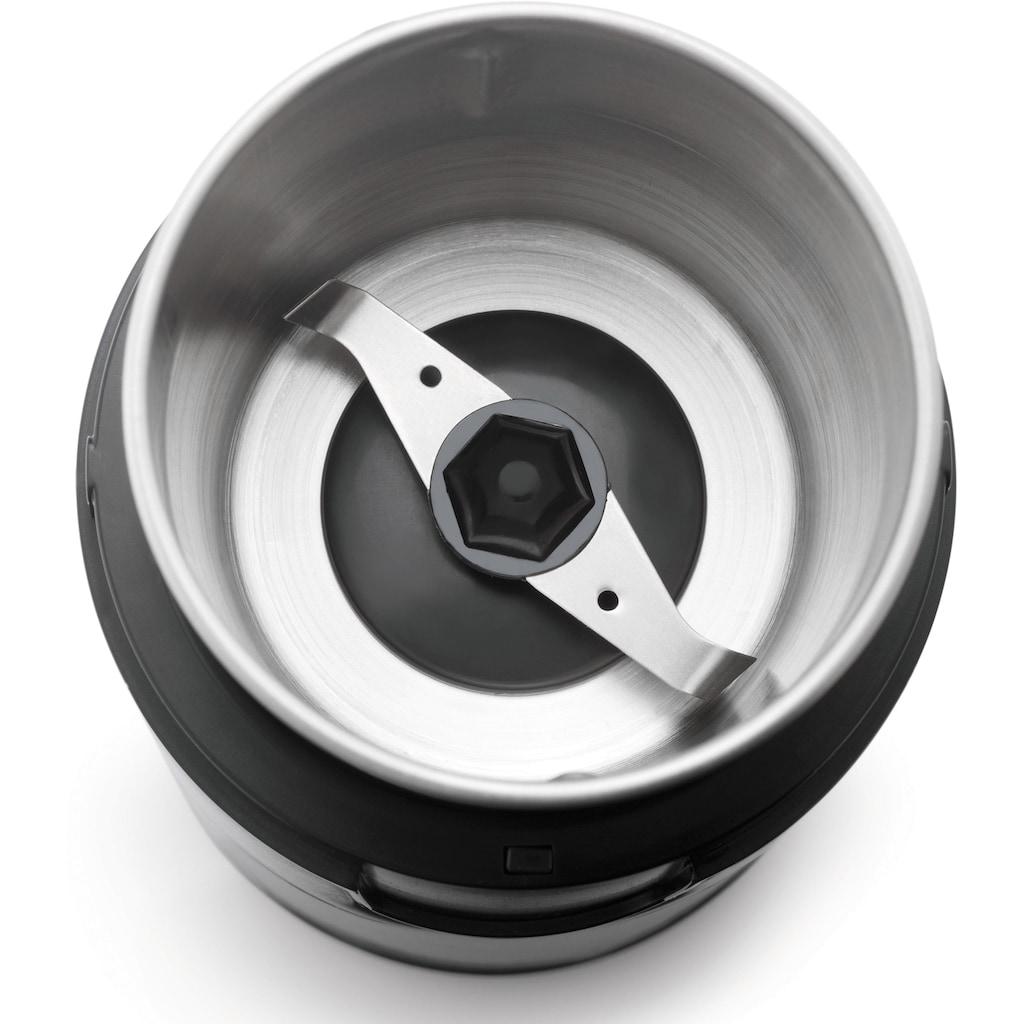 Grundig Kaffeemühle »CM 4760«, 180 W, Schlagmahlwerk, 70 g Bohnenbehälter