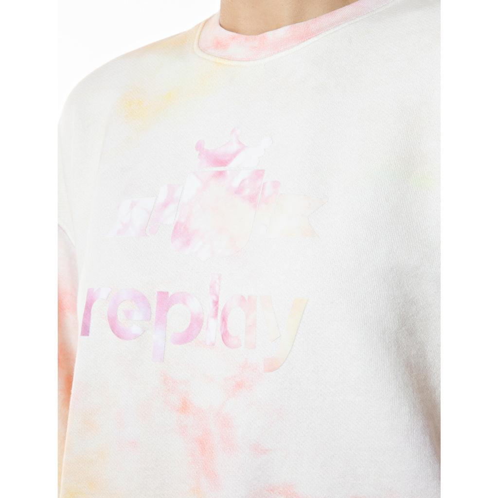 Replay Sweatshirt, mit Logo-Print