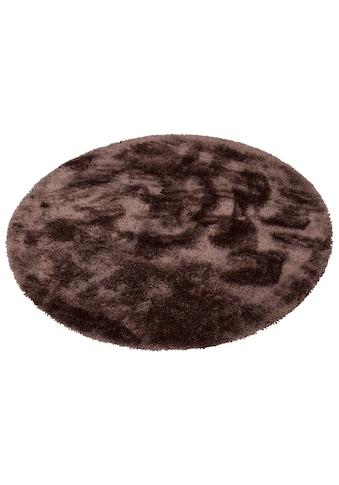 Hochflor - Teppich, »Mikro Soft Super«, my home, rund, Höhe 50 mm, maschinell gewebt kaufen