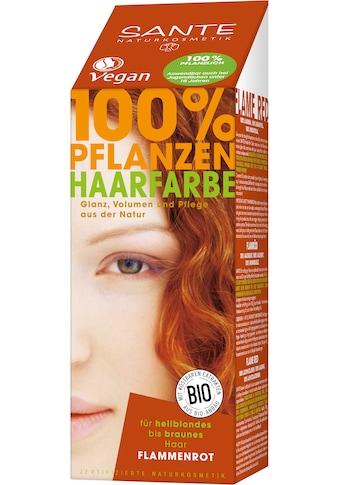 SANTE Haarfarbe »Pflanzenhaarfarbe flammenrot« kaufen