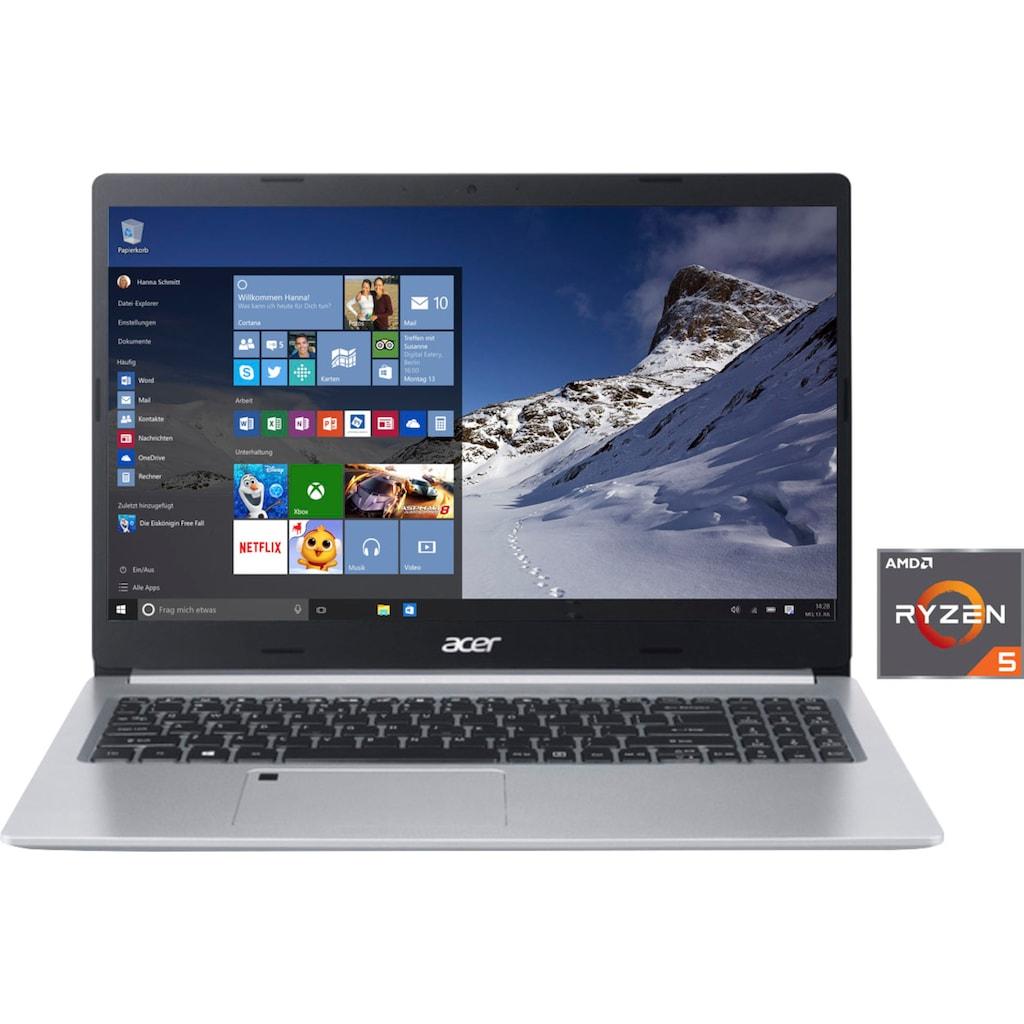 """Acer Notebook »A515-45-R6AV«, (39,62 cm/15,6 """" AMD Ryzen 5 \r\n 256 GB SSD), Kostenloses Upgrade auf Windows 11, sobald verfügbar"""