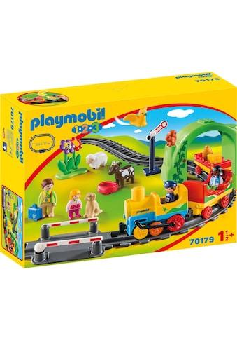 Playmobil® Konstruktions-Spielset »Meine erste Eisenbahn (70179), Playmobil 1-2-3«,... kaufen