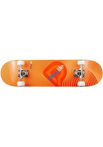 Playlife Skateboard »Illusion Orange« kaufen