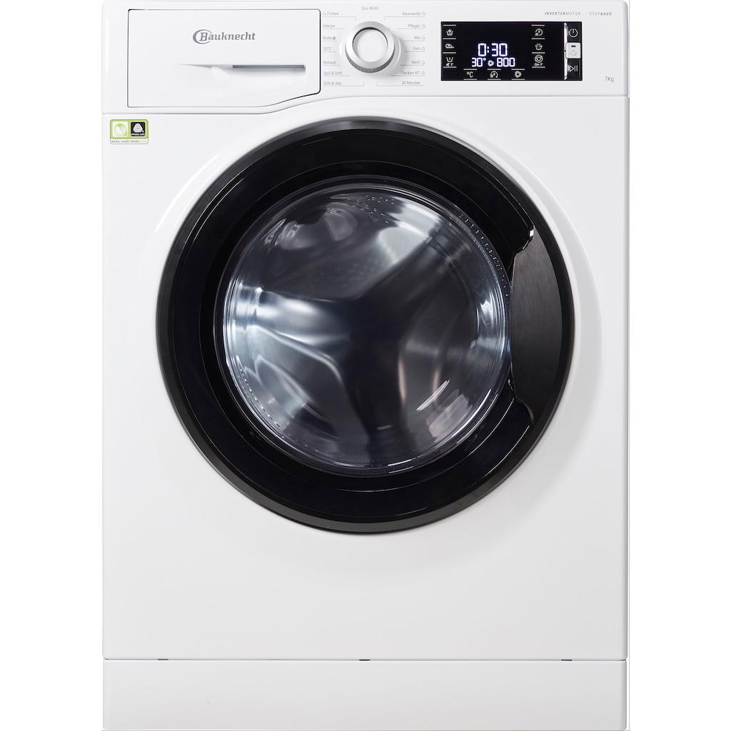 BAUKNECHT Waschmaschine »WM Elite 722 C«, WM Elite 722 C, 7 kg, 1400 U/min