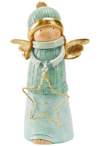 LED Dekofigur »Lucia«, Warmweiß, mit leuchtendem Stern, Höhe 20 cm kaufen