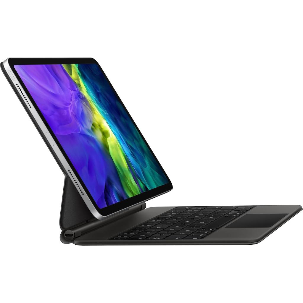 "Apple iPad-Tastatur »Magic Keyboard für das 11"" (2. Generation)«, Kompatibel mit iPad Pro 11"" 2Gen (2020 / 2021) und iPad Air 4Gen (2020)"