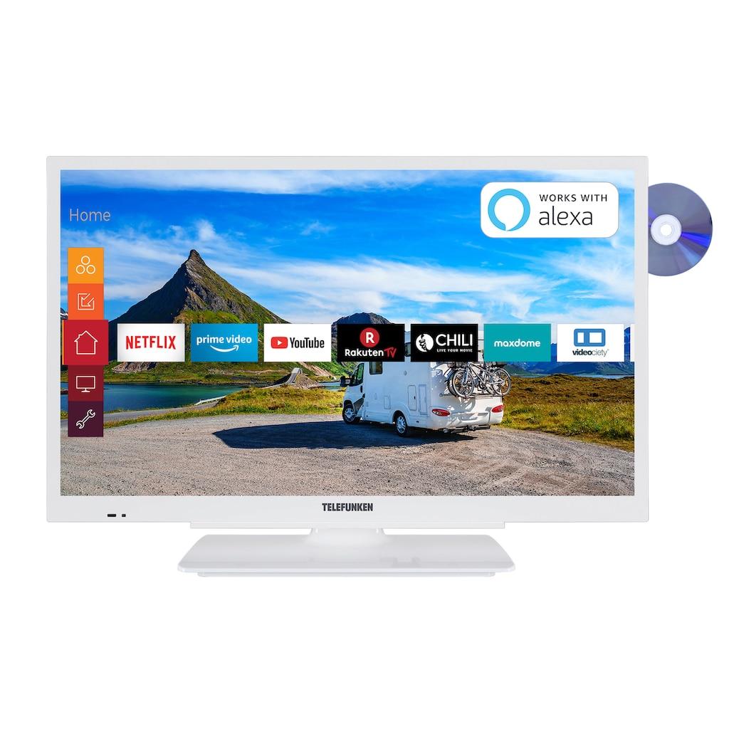 """Telefunken LED-Fernseher »XF22G501VD-W«, 55 cm/22 """", Full HD, Smart-TV"""