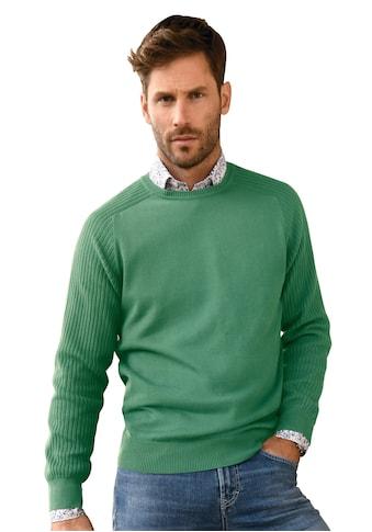 Louis Sayn Strickpullover »Rundhals-Pullover aus 100% Baumwolle Pima Cotton« kaufen