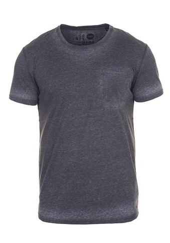 Solid Rundhalsshirt »Toke«, Kurzarmshirt mit Brusttasche kaufen
