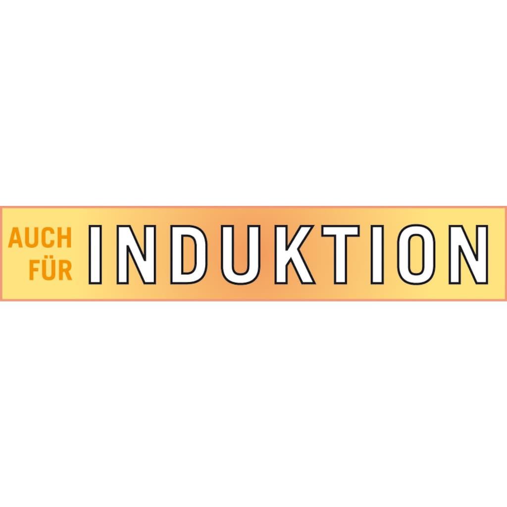 GSW Kochtopf, Gusseisen, (1 tlg.), incl. Glasdeckel, Induktion