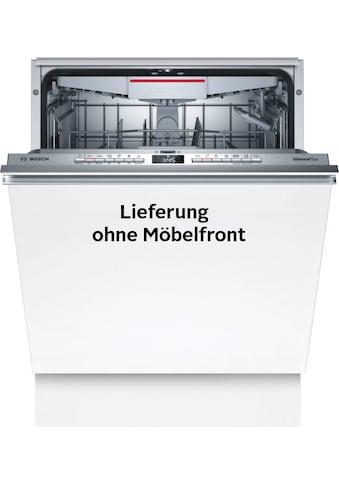 BOSCH vollintegrierbarer Geschirrspüler »SMH4HCX48E«, Serie 4, SMH4HCX48E, 14 Maßgedecke kaufen
