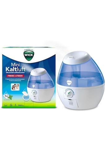 WICK Luftbefeuchter »WUL520«, 1,8 l Wassertank, Mini Kaltluft Ultraschall Luftbefeuchter kaufen