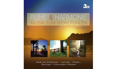 Musik-CD »RUHE & HARMONIE - MUSIK ZU / Diverse Volksmusik/Schlage« kaufen