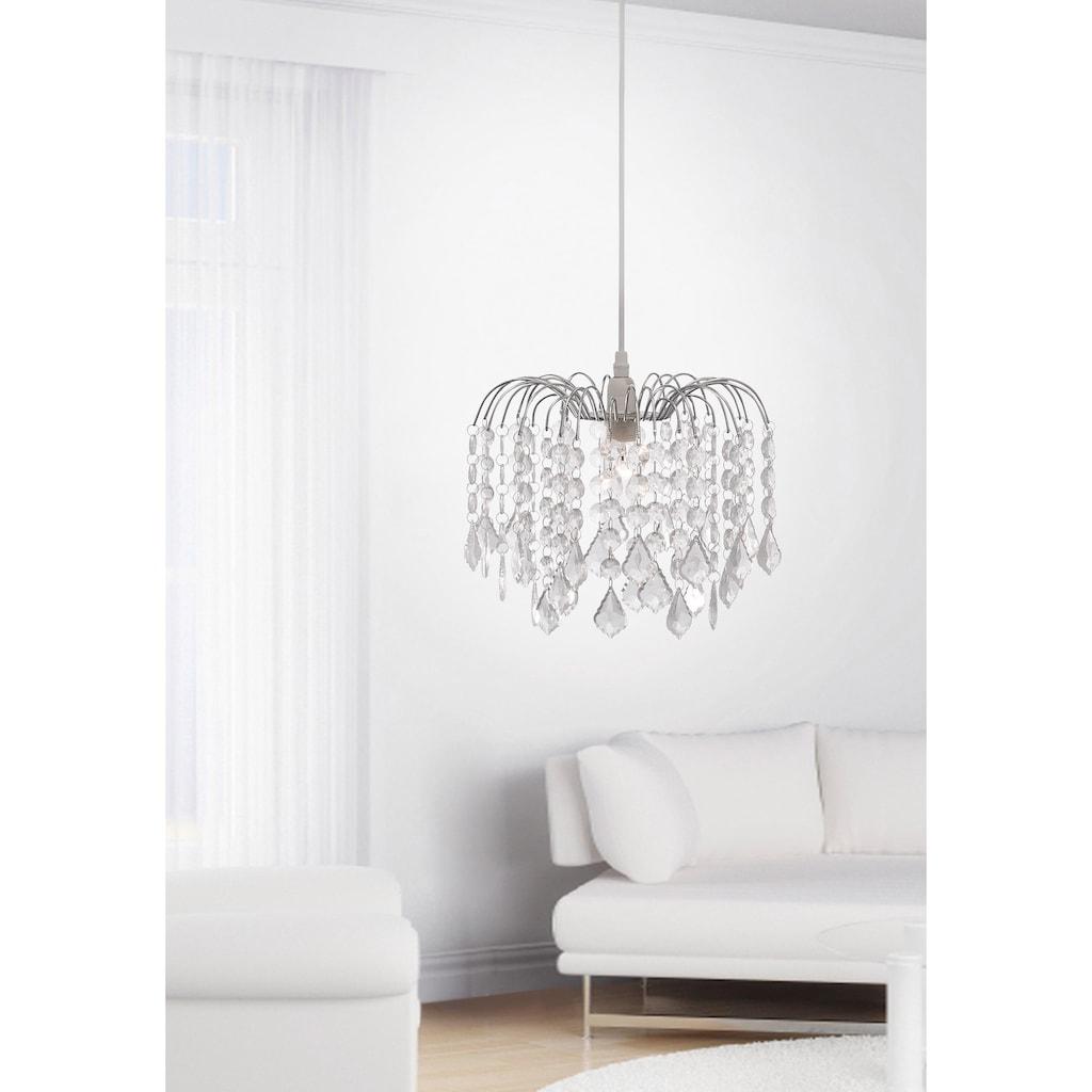 Leuchten Direkt Kronleuchter »JELLY«, E14, inklusive Kristallbehang