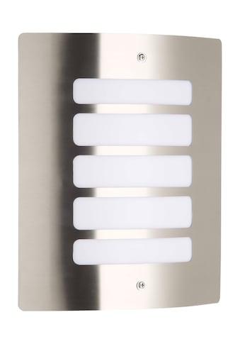 Brilliant Leuchten Außen-Wandleuchte, E27, Todd Außenwandleuchte edelstahl kaufen