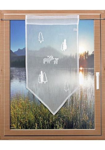 HOSSNER - ART OF HOME DECO Scheibengardine »RENTIERE«, passend zu allen... kaufen