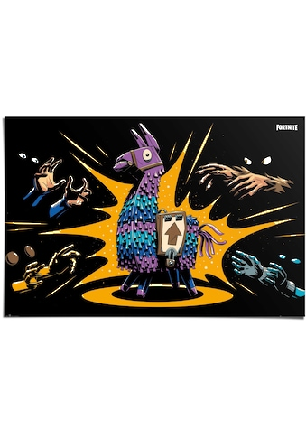 Reinders! Poster »Poster Fortnite Loot Llama - Game«, Spiele, (1 St.) kaufen