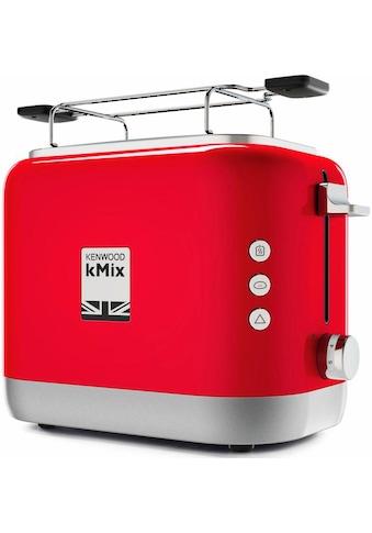 KENWOOD Toaster »TCX751RD«, 2 kurze Schlitze, für 2 Scheiben, 900 W kaufen