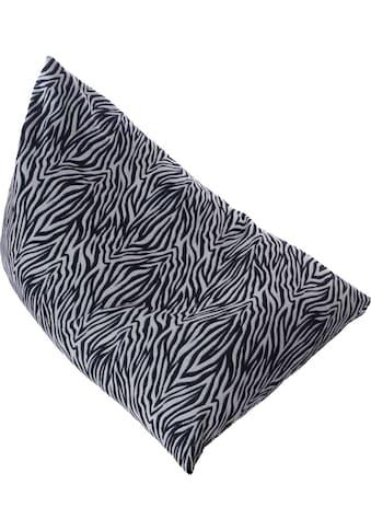 Home affaire Chillkissen »Zebra«, 100/140 cm kaufen